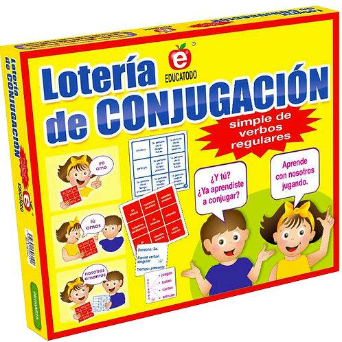 Simple Conjugation Bingo Game: Lotería de Conjugacación
