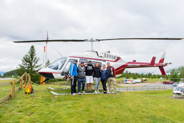 Private Helicopter Flight at Glacier National Park