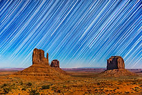 Photography Adventure, Astrophotography in Monument Valley