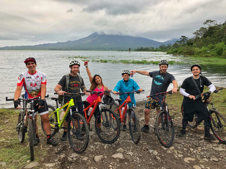 Mountaing Biking in Costa Rica