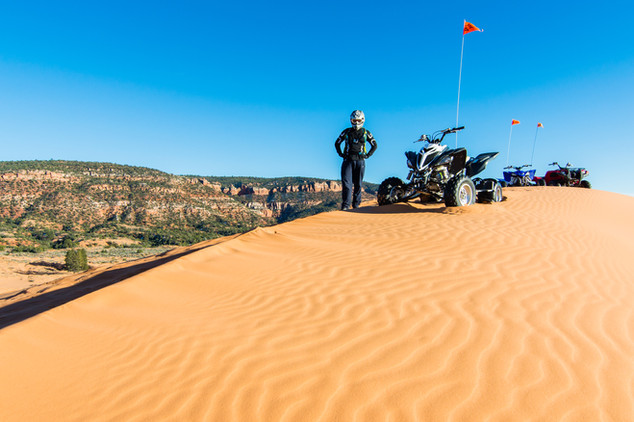ATVing in the Utah Desert
