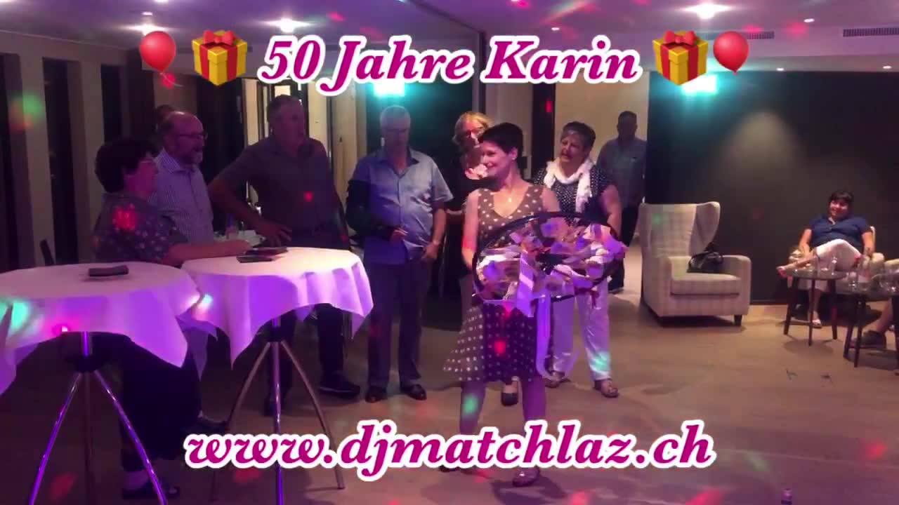 🎈🎉 Gestern feierten wir 50 Jahre Karin🎉🎈 Wünsche dir alles gute🎁  #djmatchlaz #matchlazontour #djlife #djservice #clubdj #geburtstagsdj #hochzeitsdj #eventdj #clubbing #hochzeit #weddingdj #wedding #hochzeitschweiz  #goodmusic #party  #justmarried #g