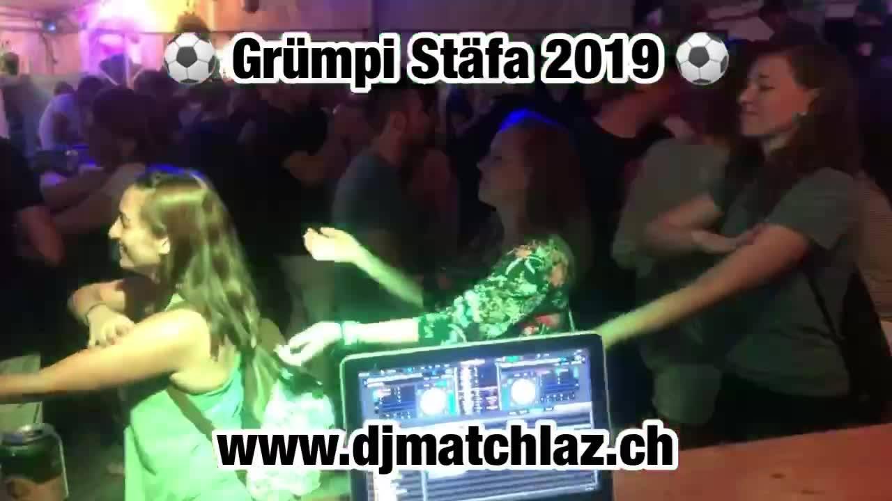 ⚽️Grümpi Stäfa 2019⚽️  Ich durfte am Samstag am Grümpi in Stäfa spielen, was für eine geile Party ich danke euch🔥  #djmatchlaz #matchlazontour #djlife #djservice #clubdj #eventdj #weddingdj #hochzeitsdj #party #grümpistäfa #fcstäfa #stäfa #fussball #