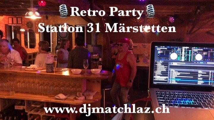 🎙Retro Party was great🎙  #djmatchlaz #matchlazontour #djlife #retroparty #oldies #station31märstetten