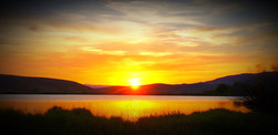 Fishing Ponds Sunset