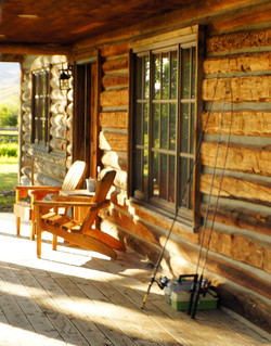 Cabin Covered Patio
