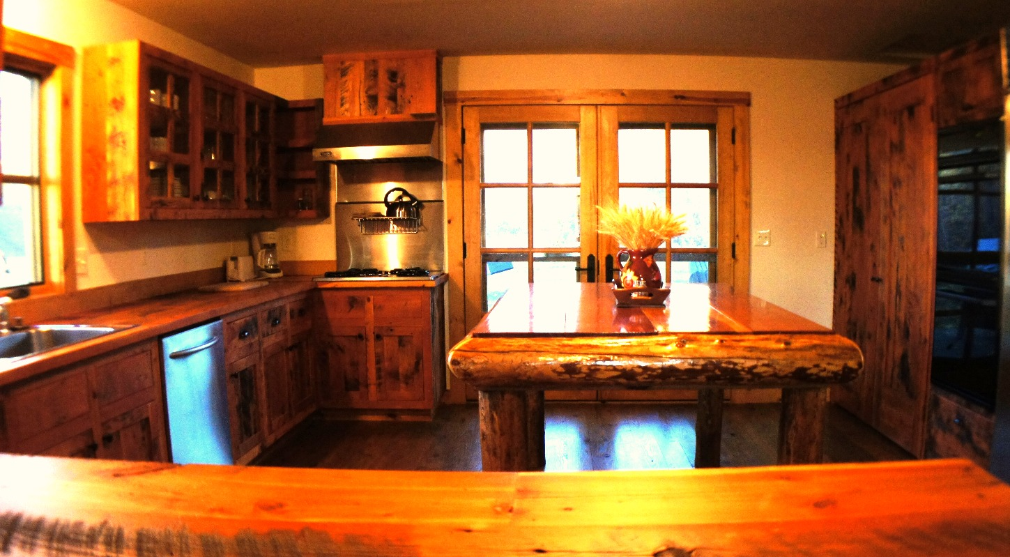 Cabin Kitchen 2