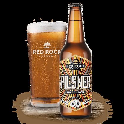 Red Rock Pilsner Lager 4.1%