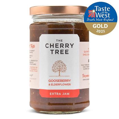 Cherry Tree Gooseberry & Elderflower Jam