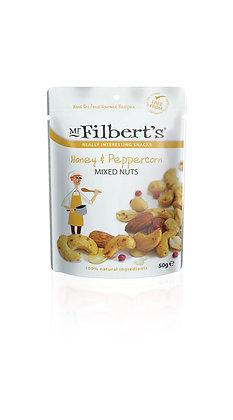Mr Filbert's Honey & Peppercorn Mixed Nuts