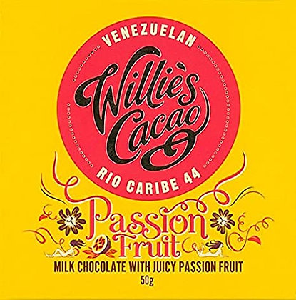 Willie's Cacao - Passionfruit Rio Caribe 44 Chocolate
