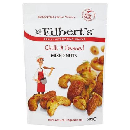 Mr Filbert's Chilli & Fennel Mixed Nuts