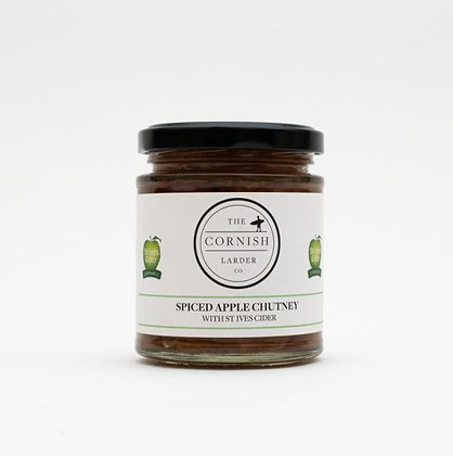 The Cornish Larder Spiced Apple Chutney (with St. Ives cider)