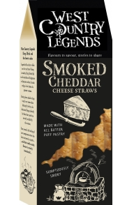 West Country Legends Smoked Cheddar Cheese Straws