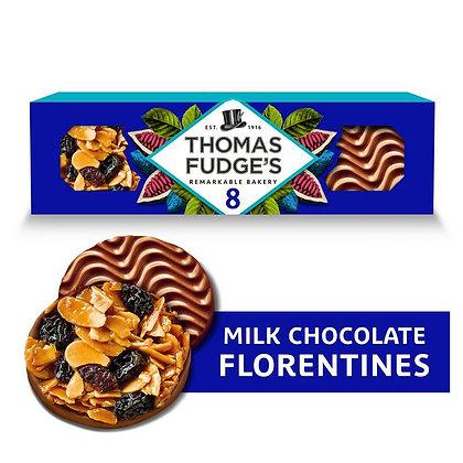 Thomas Fudge's Milk Chocolate Florentines