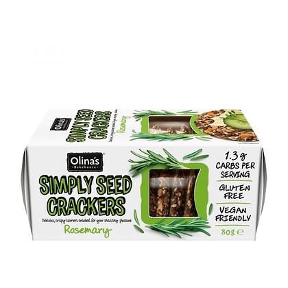 Olina's Bakehouse -Simply Seed Crackers Rosemary 80g