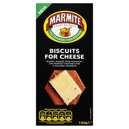 Marmite - Biscuits for Cheese (150g)