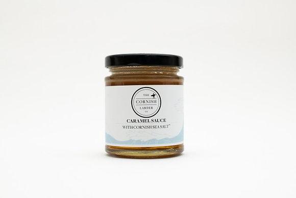 The Cornish Larder Caramel Sauce with Cornish Sea Salt