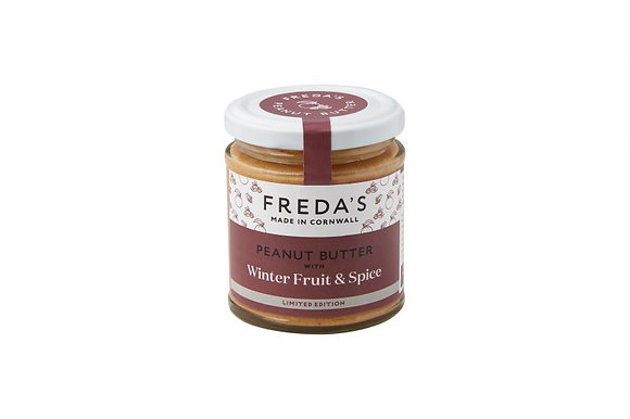 Freda's Winter Fruit & Spice Peanut Butter