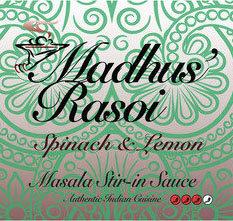 Madhu's Rasoi Stir-In Sauce Spinach & Lemon