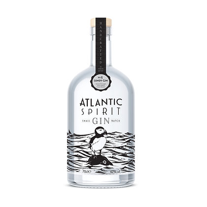 Atlantic Spirit Lundy Gin 35cl