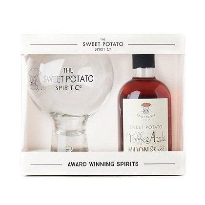 Sweet Potato Toffee Apple Moonshine 20cl & Spirit Globe