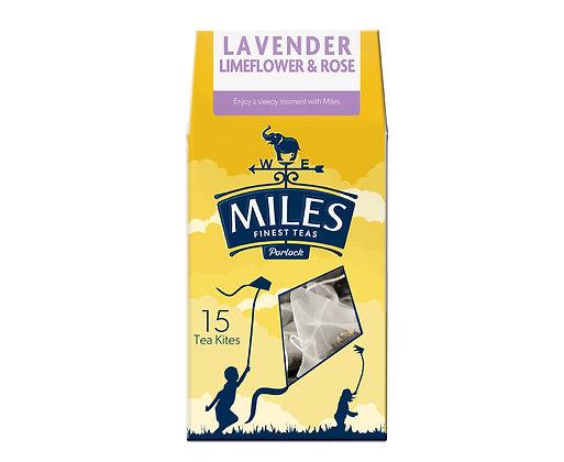 Miles Lavendar, Limeflower & Rose (15 Tea Kites)