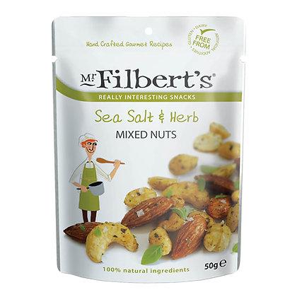 Mr Filbert's Sea Salt & Herb Mixed Nuts