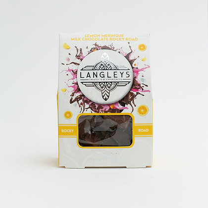 Langley's Lemon Meringue Milk Chocolate Rocky Road