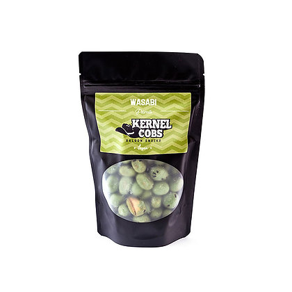 Kernel Cobs Wasabi Peanuts