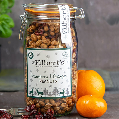 Mr Filbert's Cranberry & Orange Peanuts