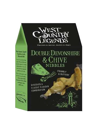 West Country Legends - Double Devonshire & Chive Nibbles