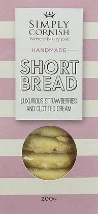 Simply Cornish Strawberry Clotted Cream Shortbread