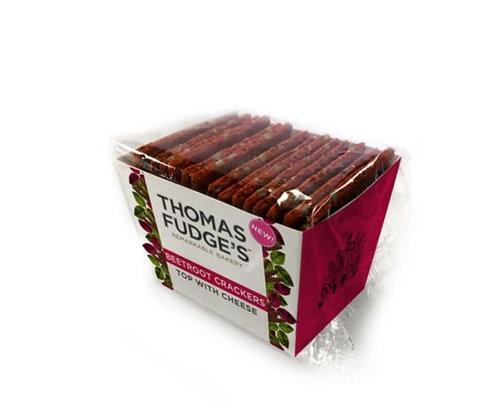 Thomas Fudge's Beetroot Crackers