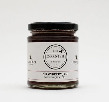 The Cornish Larder Strawberry Jam (with Tarquin's Gin)