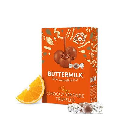 Buttermilk Dairy Free Orange Choccy Truffles 80g