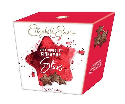 Elizabeth Shaw Milk Chocolate Cinnamon Stars 125g