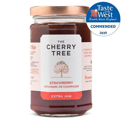 Cherry Tree Strawberry with Marc De Champagne Jam