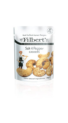 Mr Filbert's Salt & Pepper Cashews