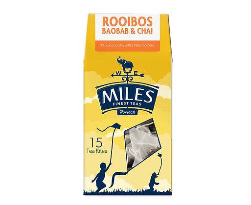Miles Rooibos, Baobab & Chai (15 Tea Kites)