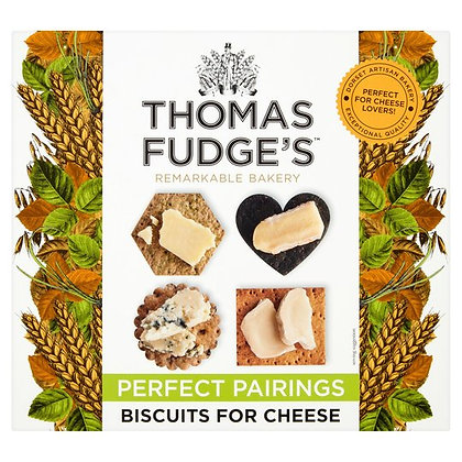 Thomas Fudge's Biscuits for Cheese