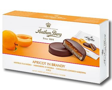 Anthon Berg - Apricot in Brandy Chocolate Covered Marzipan