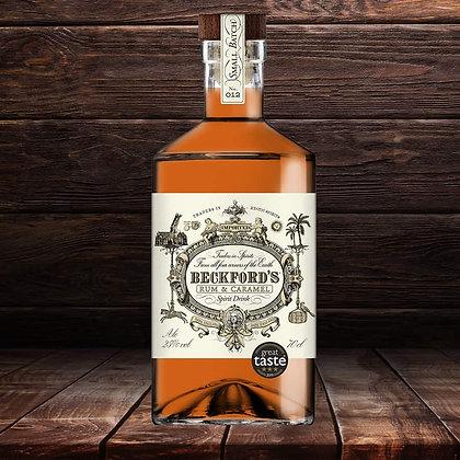 Beckfords Caramel Rum 25cl