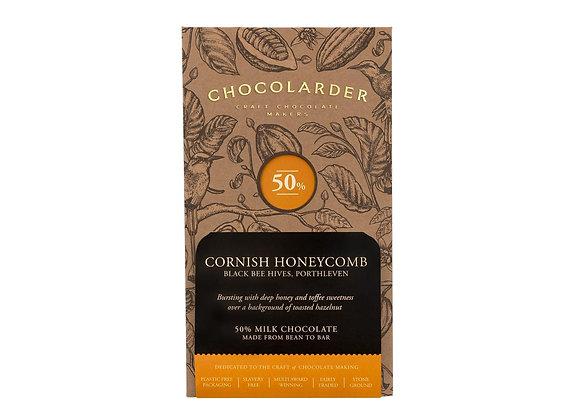 Chocolarder 50% Cornish Honeycomb Bar