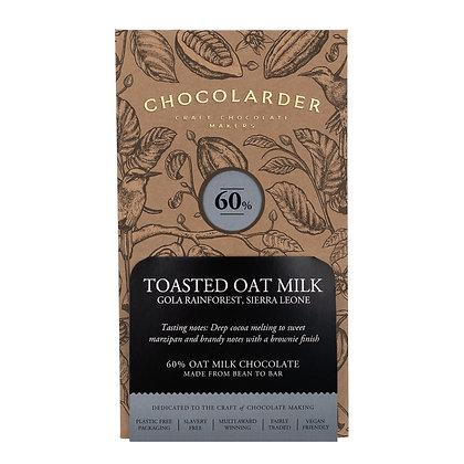 Chocolarder 60%  Toasted Oat Milk Bar 70g