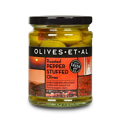Olives Et Al - Roasted Pepper Stuffed Olives