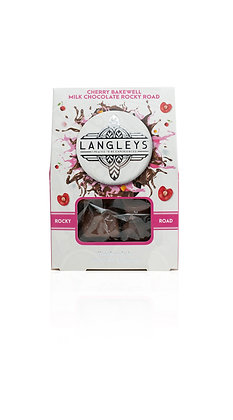 Langley's Cherry Bakewell Milk Chocolate Rocky Road