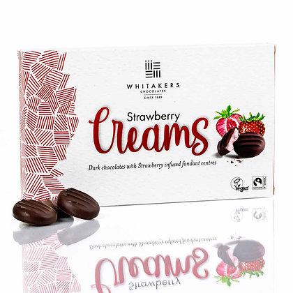 Whitakers Dark Chocolate Strawberry Creams