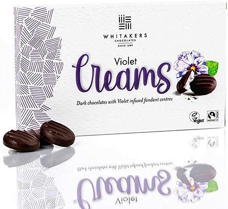 Whitakers Dark Chocolate Violet Creams