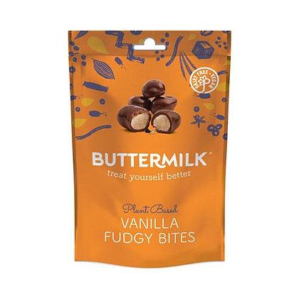 Buttermilk Vanilla Fudgy Bites
